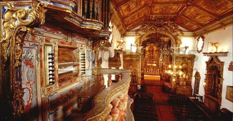 Concertos de órgão histórico movimenta Tiradentes