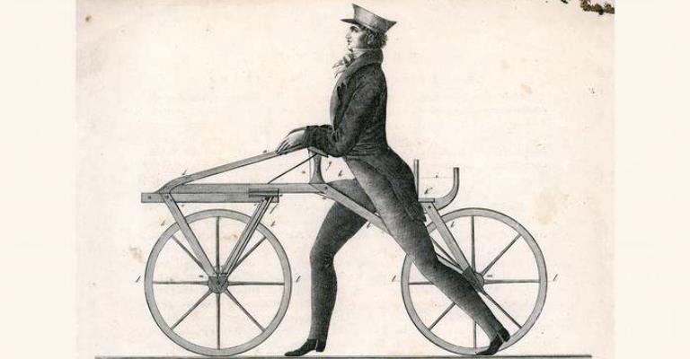 Há 200 anos, era inventada a bicicleta