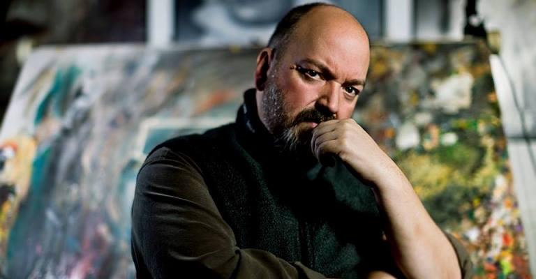 """Dave McKean lança a HQ """"Black Dog"""" no Brasil"""