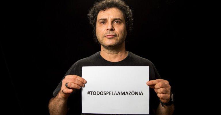 Artistas criam campanha contra decreto na Amazônia