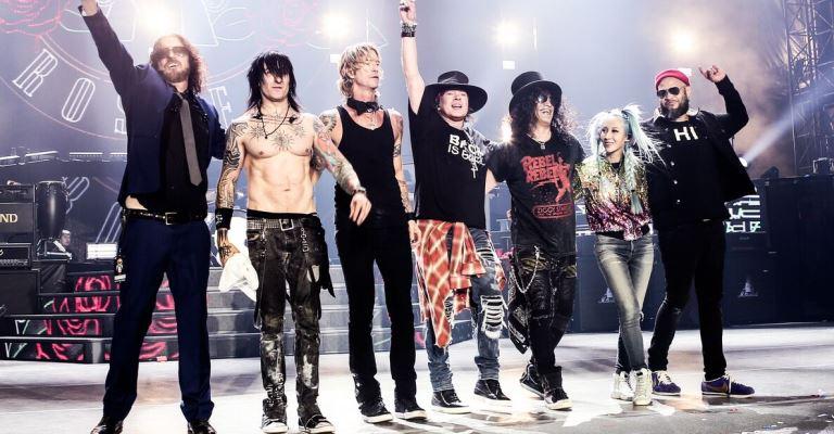 Guns N' Roses e Alice Cooper fecham São Paulo TRIP