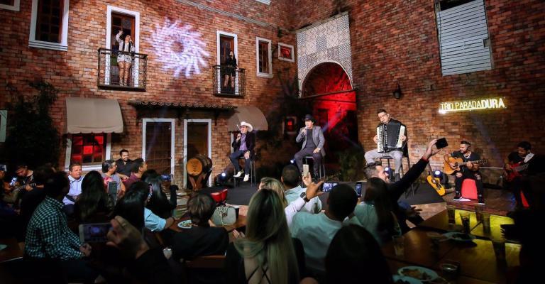 Trio Parada Dura grava novo DVD em BH