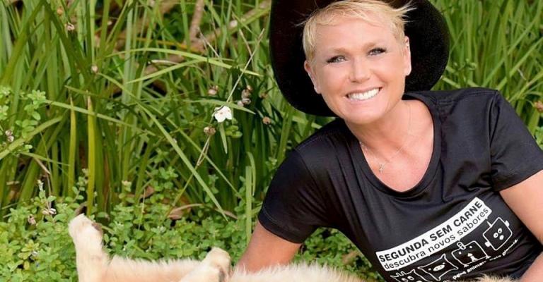 """Xuxa apoia campanha """"Segunda Sem Carne"""""""