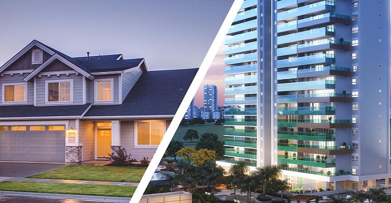 Casa ou apartamento? Conheça os prós e contras