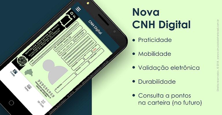Mais de 161 mil condutores já têm CNH Digital em Minas
