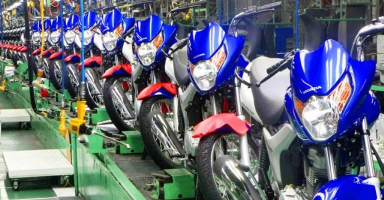 Vendas de motocicletas têm queda de 2,3% em outubro