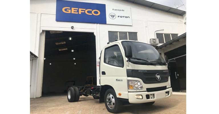 Foton inicia produção de caminhões da Família Minitruck