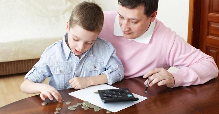 Ensinando economia a uma criança
