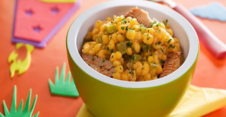 Gomes da Costa: cozido de canjica com sardinha + 2 receitas caseiras