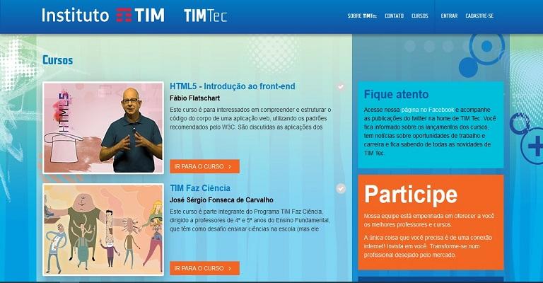 Instituto TIM auxilia capacitação de professores para ensino a distância