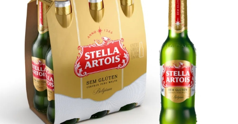 Stella Artois lança versão sem glúten
