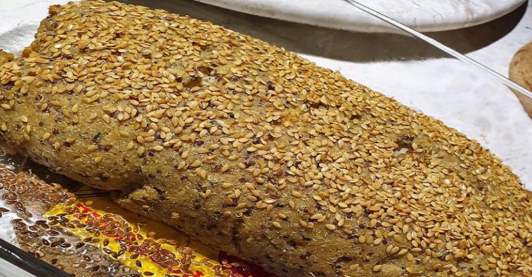 Rocambole de frango com amêndoas: uma receita prá lá de gostosa!