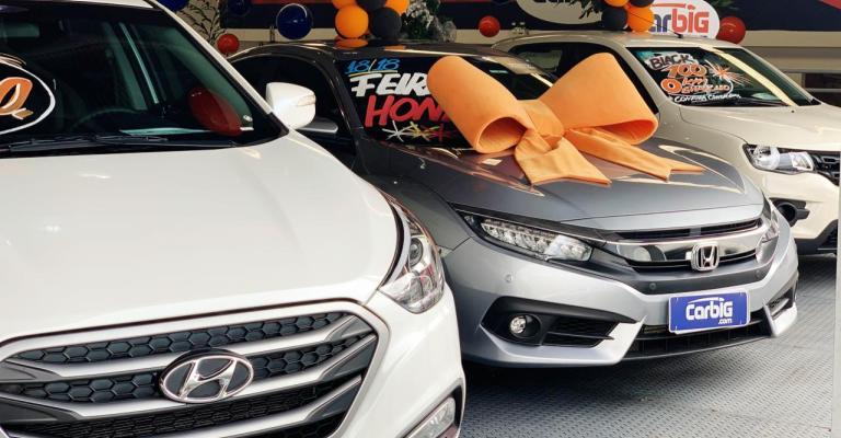 Venda de carros seminovos tem novo crescimento em agosto