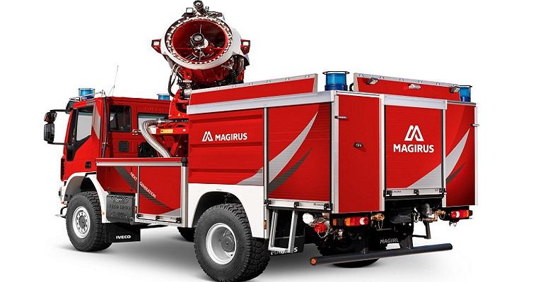 Magirus lança caminhão de bombeiros com nova tecnologia de névoa