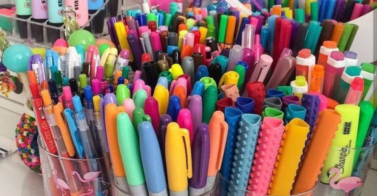 Programa de logística reversa de canetas atinge2 milhões de unidades coletadas