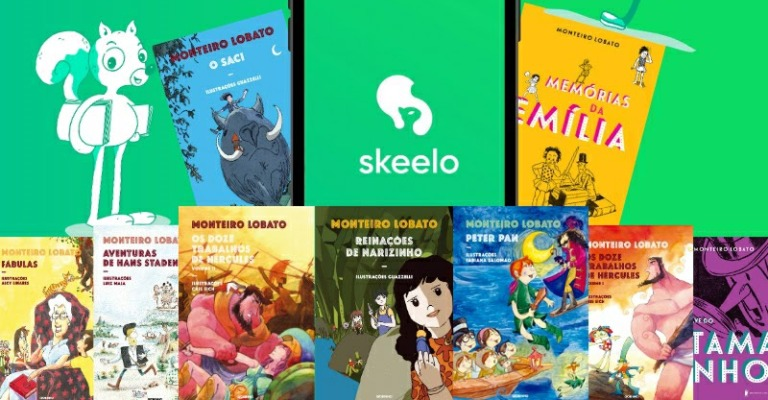 App de e-books estimula leitura infantil com clássicos da literatura gratuitos
