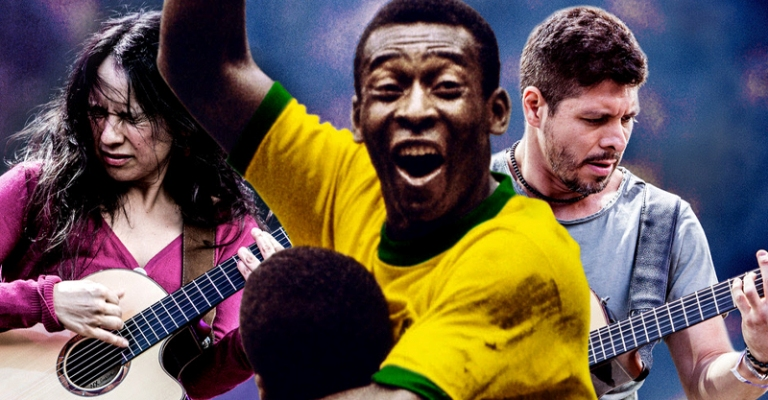 Pelé lança música com dupla mexicana