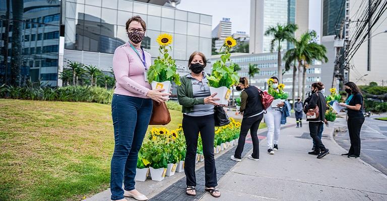 Campanha publicitária intriga moradores de Belo Horizonte