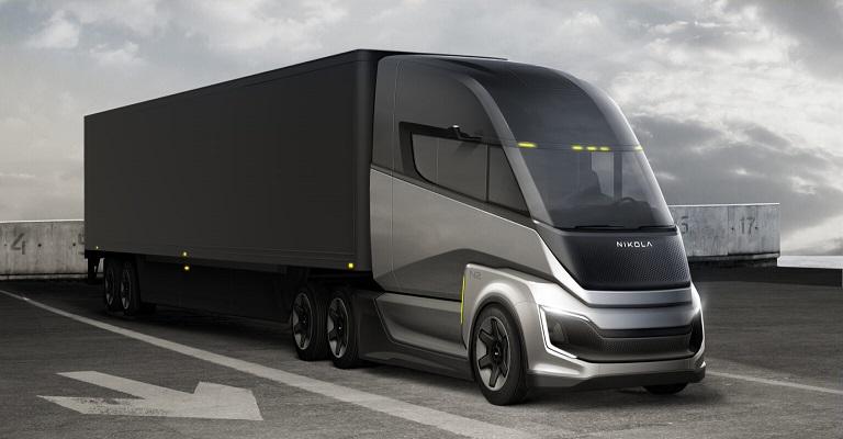 Novos modelos de caminhões Nikola movidos a célula de combustível
