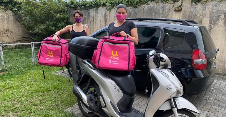 Empreendedora do Paraná cria empresa de entregas somente com mulheres