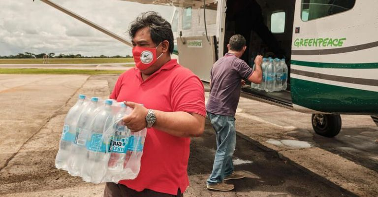 Em meio a nova onda de Covid-19, indígenas recebem 36 toneladas de doações