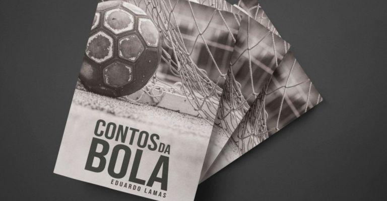 Livro apresenta 19 histórias que abordam os mais variados ambientes do futebol