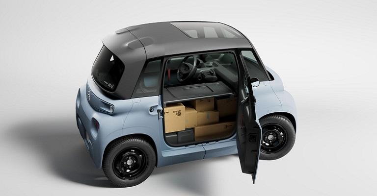 Citroën My Ami Cargo elétrico para entregas rápidas