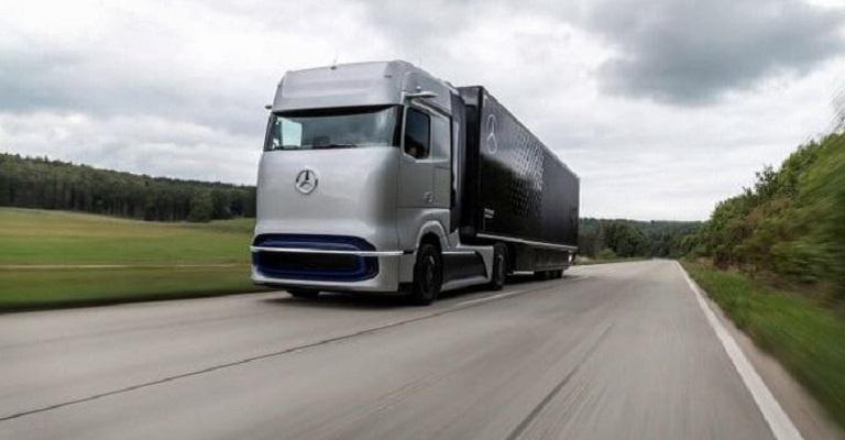Começam os testes com o Mercedes-Benz movido a base de hidrogênio