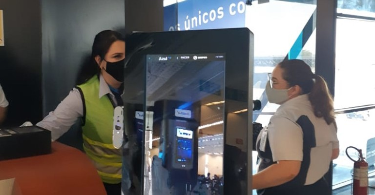 Embarque 100% digital é testado no Aeroporto Internacional de BH