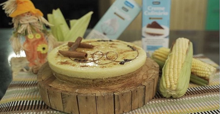 Receitas juninas utilizando cremes culinários, chantilly e o famoso milho