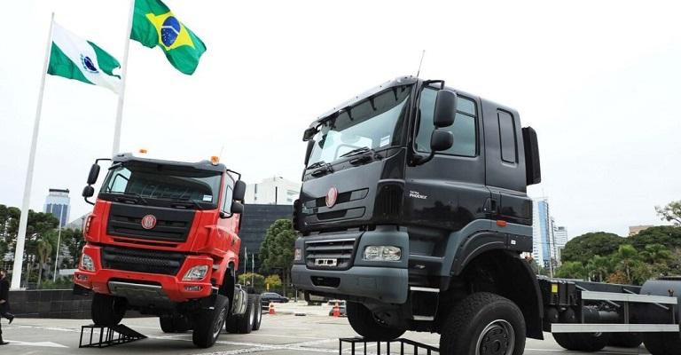 Tatra apresenta os caminhões 6×6 que serão montados pela TatraBras ainda este ano
