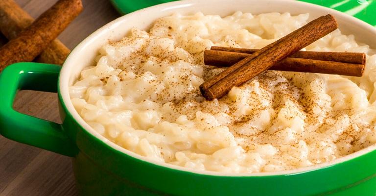 Receita para as festas Juninas? Que tal um arroz doce perfeito!