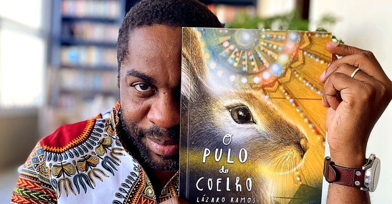 Lázaro Ramos apresenta Gusmão, um menino que sonha ser coelho