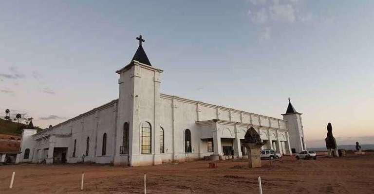 Maior santuário do mundo dedicado a Santa Rita de Cássia está em construção em Minas Gerais