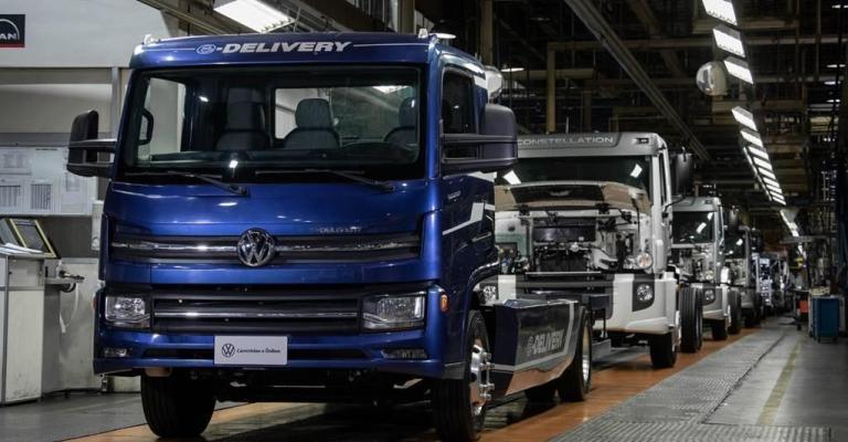 VW Caminhões e Ônibus inicia a produção do e-Delivery