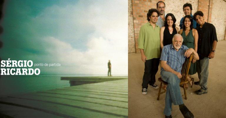 Álbum de Sérgio Ricardo, de 2008, chega nas plataformas digitais