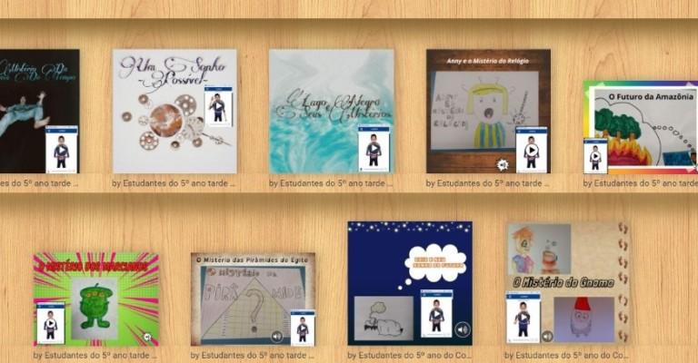 Crianças de Ribeirão Preto lançam livros virtuais inclusivos