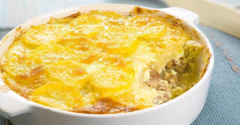 Hhhuuummm… Batata gratinada com sardinhas + 2 receitas