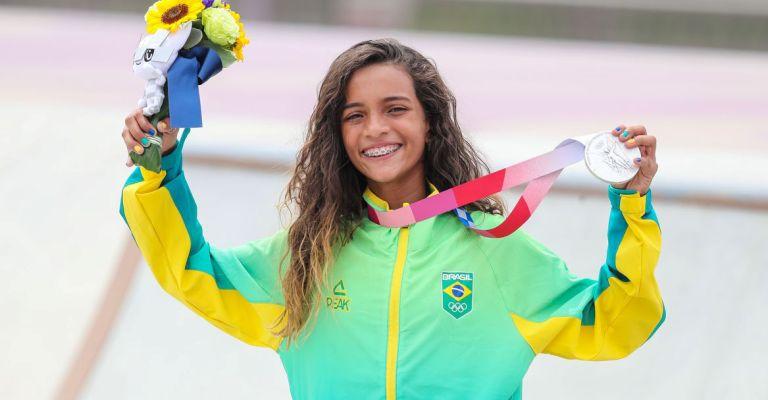 Rayssa Leal é a atleta mais mencionada em rede social nas Olimpíadas