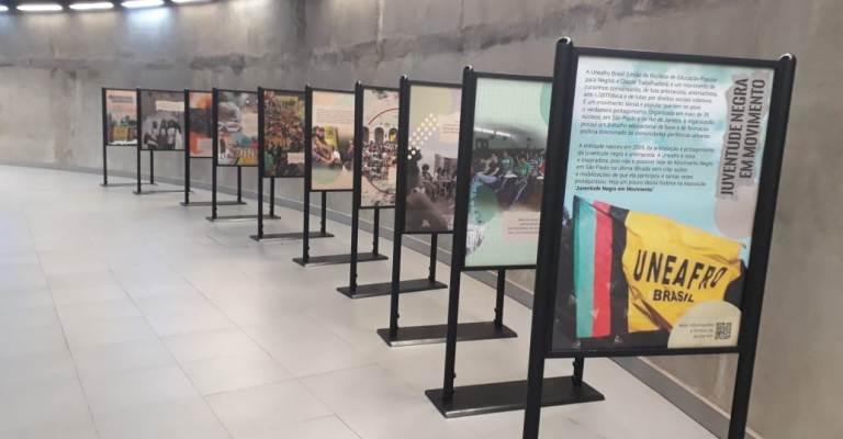 Exposição em São Paulo marca os 12 anos da Uneafro Brasil