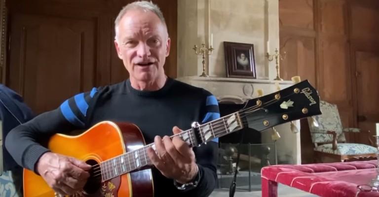 Ecad lista as músicas do Sting mais tocados no Brasil