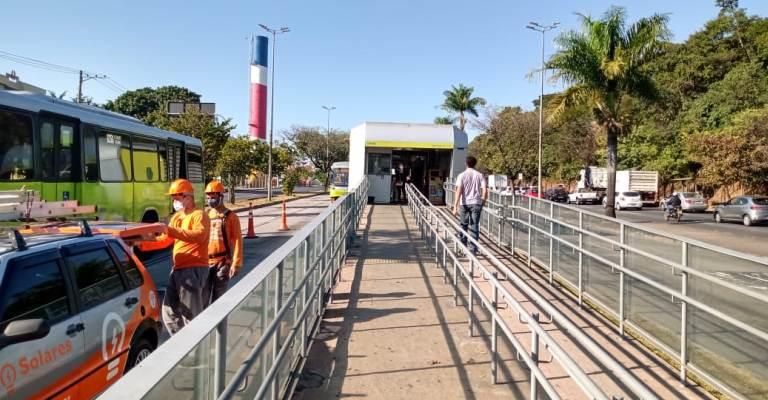 Belo Horizonte ganha projeto de energia solar em estação de ônibus
